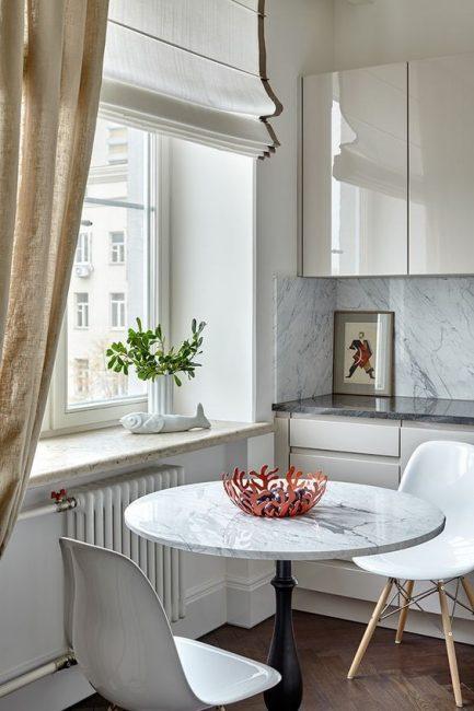 Кухонные занавески придадут любой кухне чувство уюта