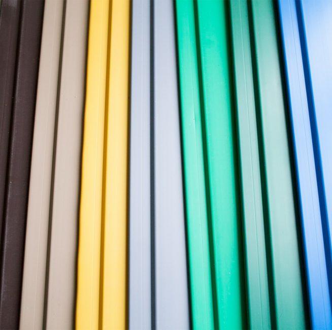 Цветовая палитра пластиковых панелей