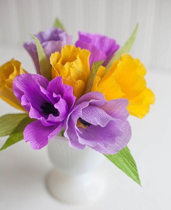 Яркие тюльпаны украсят любой уголок дома