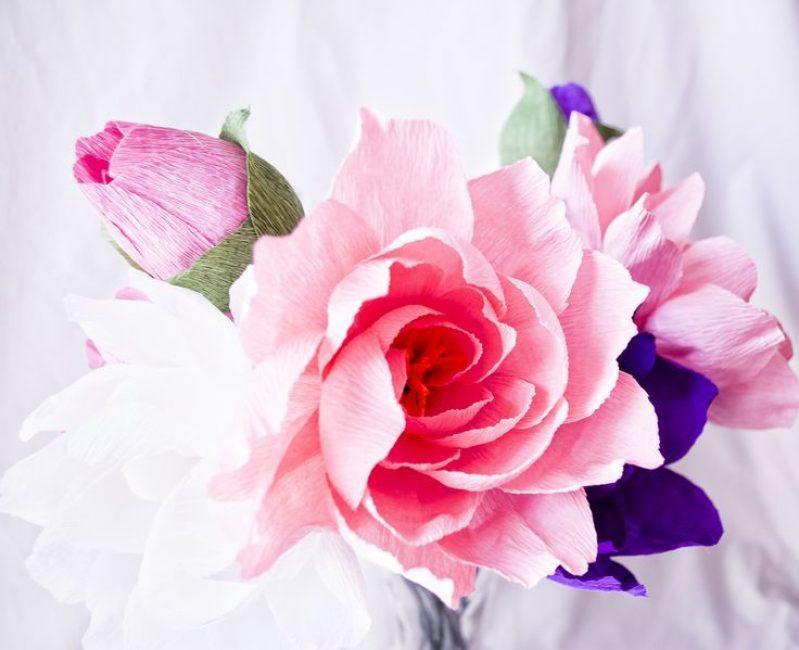 Нежно-розовый контраст отлично дополнит дизайн
