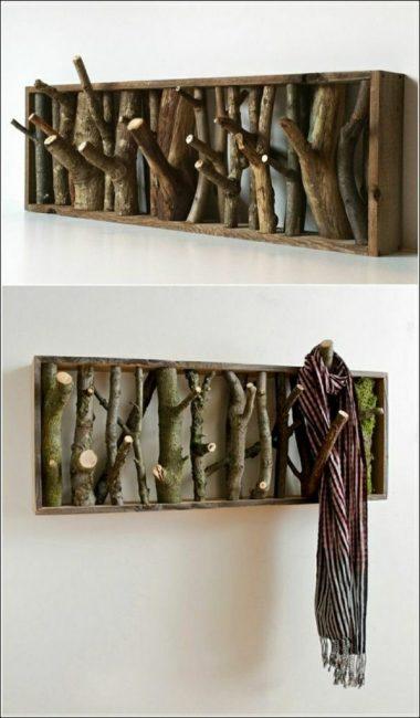 Оригинальные крючки для одежды