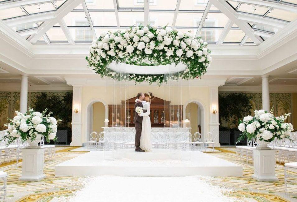 Свадебный подиум
