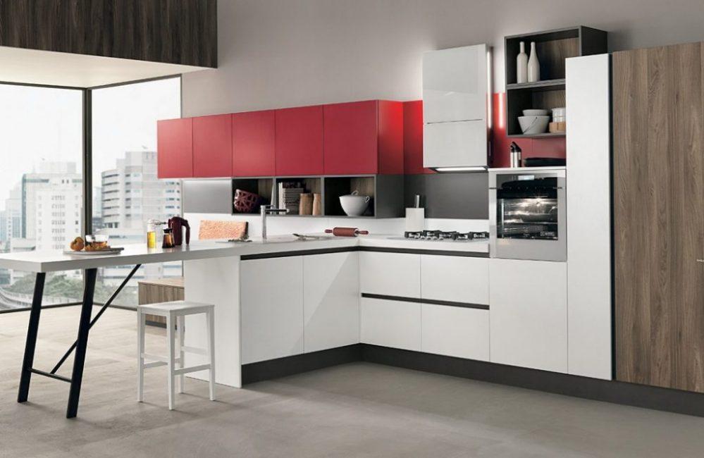 Стильные фасады на кухне