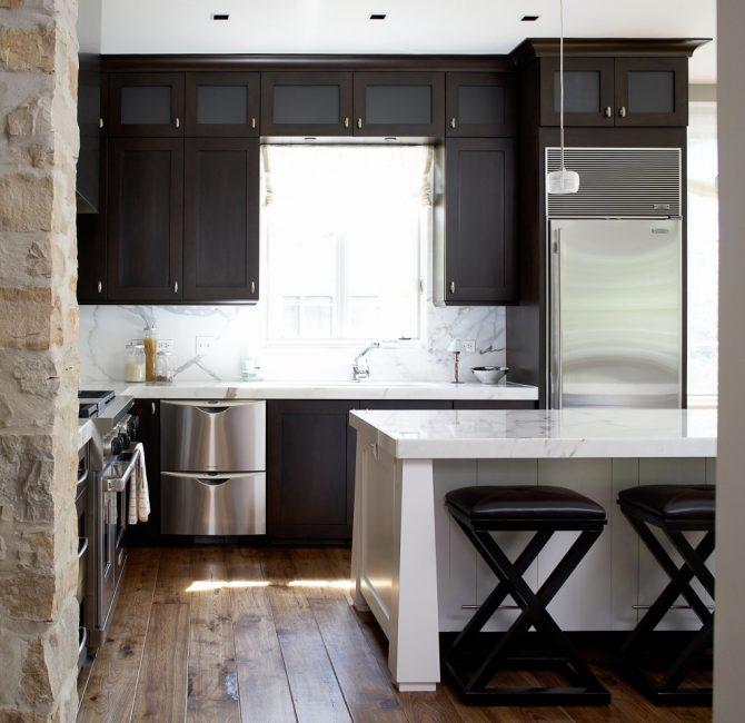 Организовываем пространство в маленькой кухне