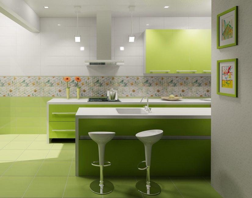 Подберите плитку под стиль интерьера помещения