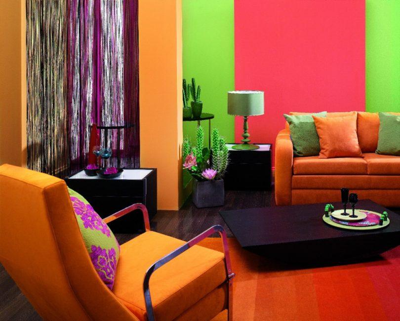 Краски для стен – это простор для ваших творческих идей
