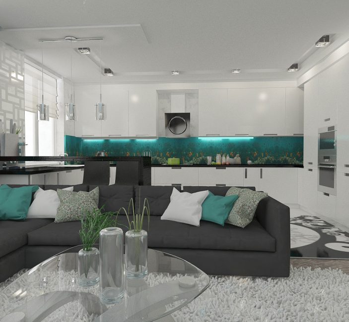 Цвет формирует впечатления о комнате