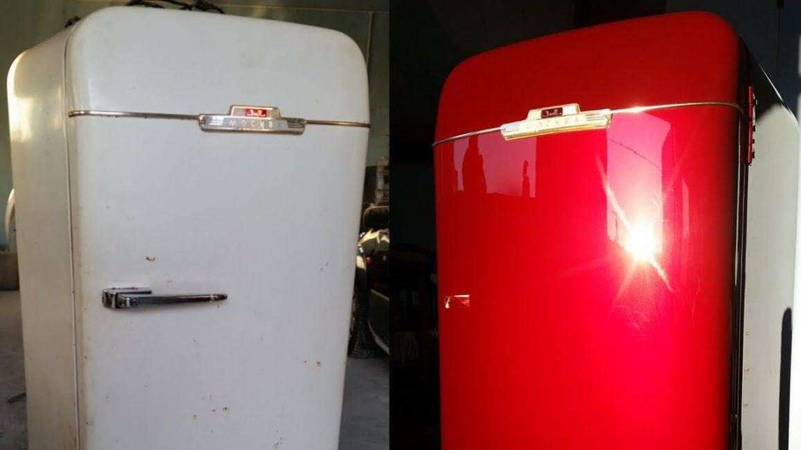 Превратите старый холодильник в новый