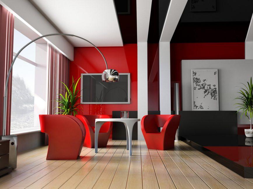 Выбирайте цвет помещения по своей внутренней энергетике