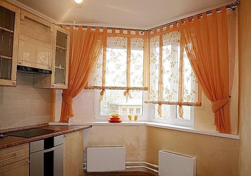 Идеальный размер для окна на кухне