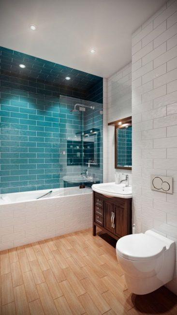 Современные материалы в отделке ванной комнаты