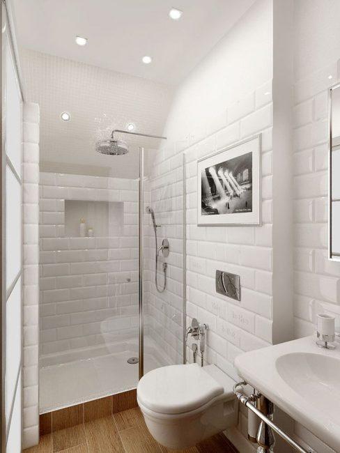 Сделайте ванную модной, современной, изысканной