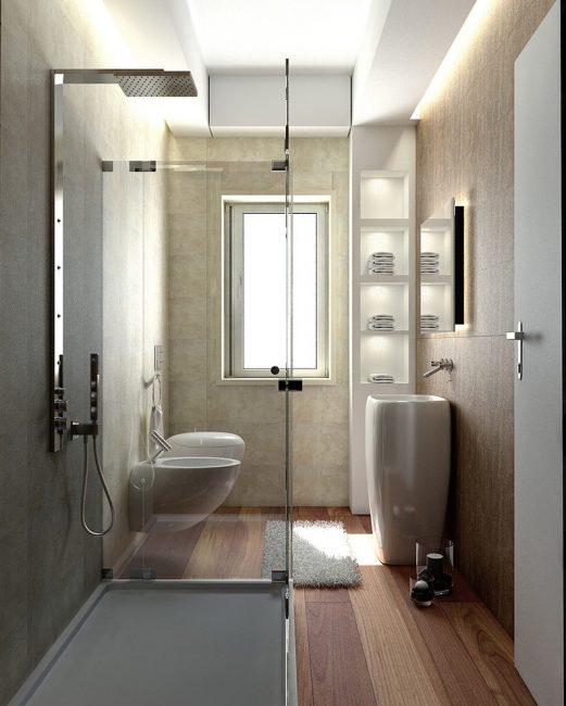 Красота и фактурность бетонных поверхностей