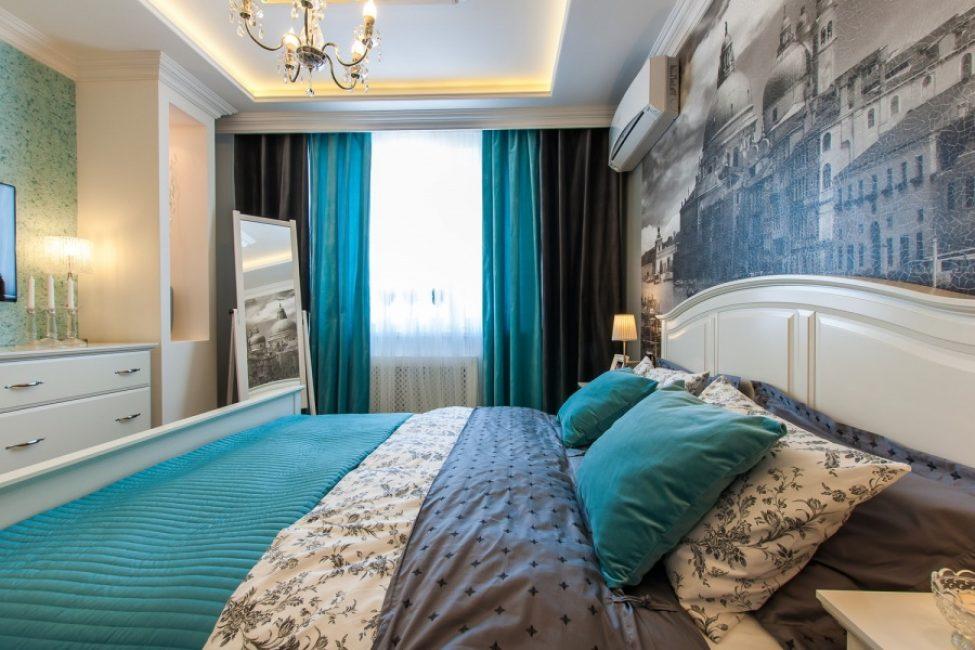 Идеальная спальня с матовыми оттенками