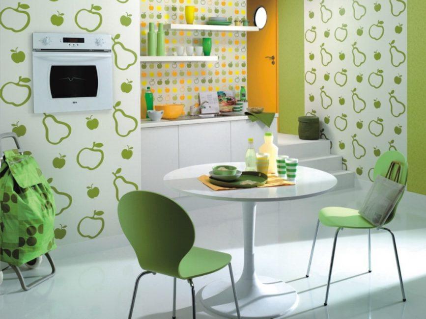 Выбирайте на кухню полотна стойкие к влаге
