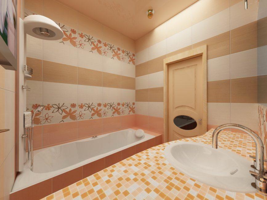 Природные оттенки в вашей ванной