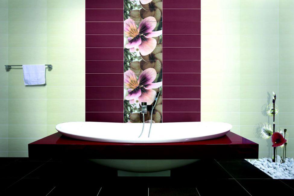 Керамика - один из материалов для отделки стен