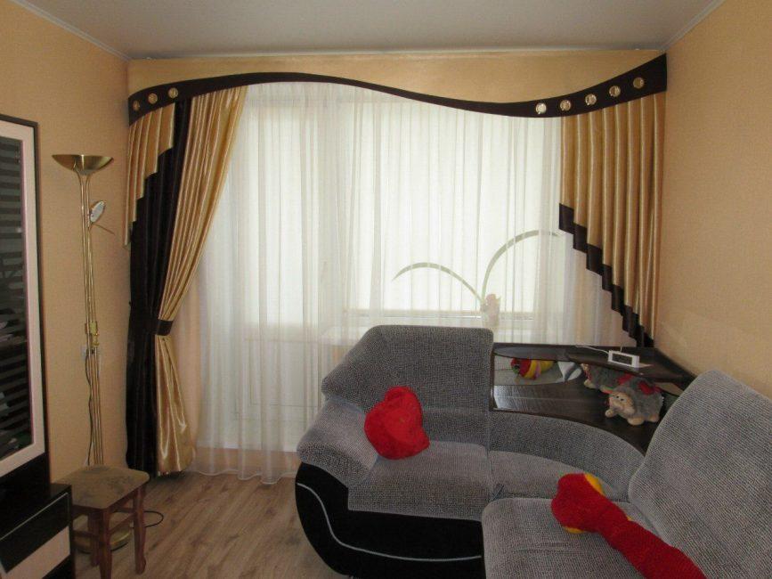 Асимметричные линии для тепла и уюта