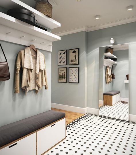 Светлые и пастельные цвета для увеличения пространства