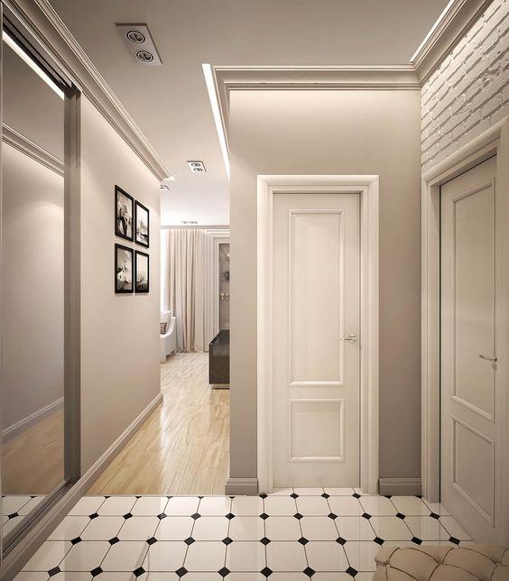 Огромную роль в помещении играет освещение