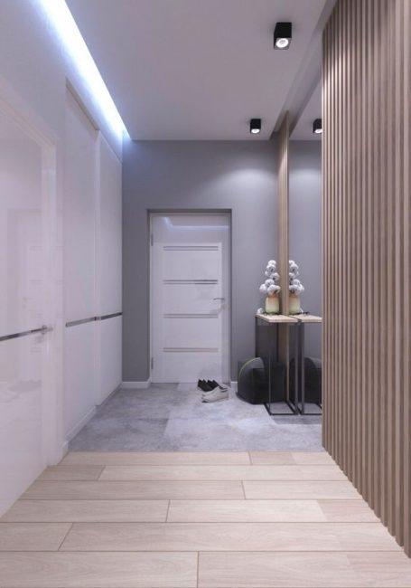 Связующие цвета с остальными помещениями