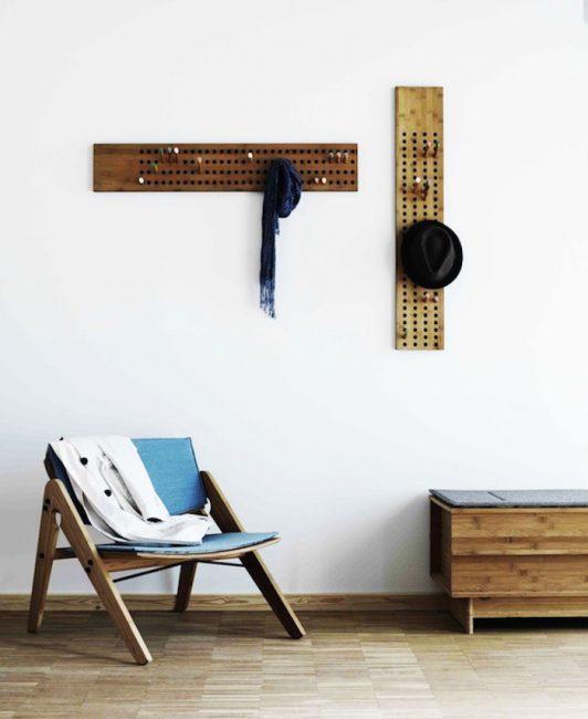 Минимум мебели, простое освещение