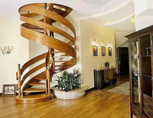 Весь шарм в одной лестнице