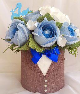 Как сделать цветы из гофрированной бумаги своими руками. ТОП-6 простых мастер-классов + 125 ФОТО