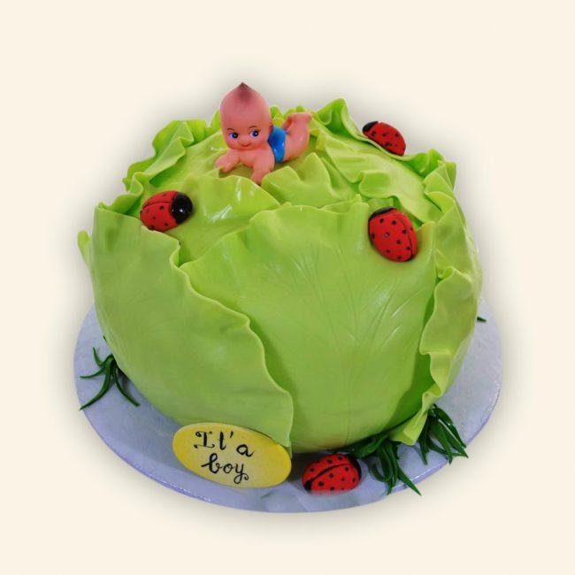 Торт из мастики соответствующий тематики