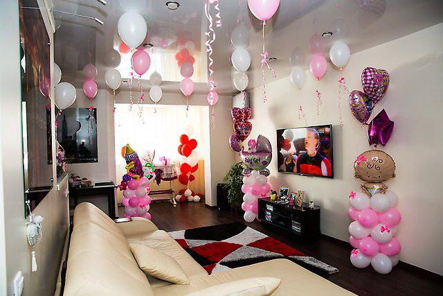 Украшаем потолок своими руками на день рождения фото 774
