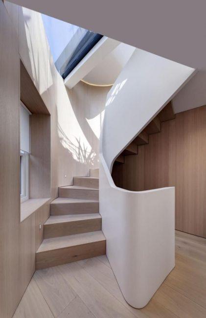 Креативная и деревянная в частном доме