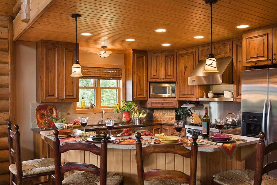 Богатая и изящная кухня