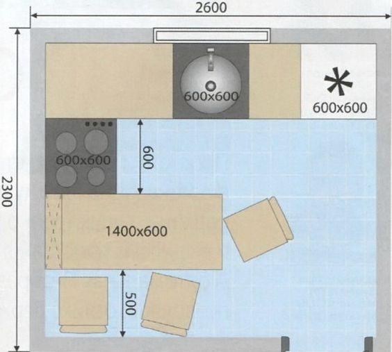 Дизайн малогабаритной кухни с холодильником в хрущевке на 5-6 кв.м. + 190 ФОТО реальных и практичных планировок
