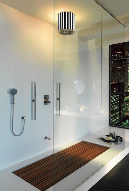 Шикарный интерьер ванной комнаты