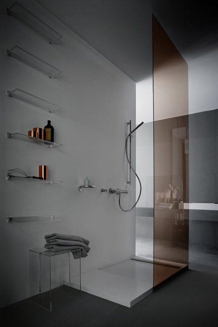 Оригинальное оформление ванной