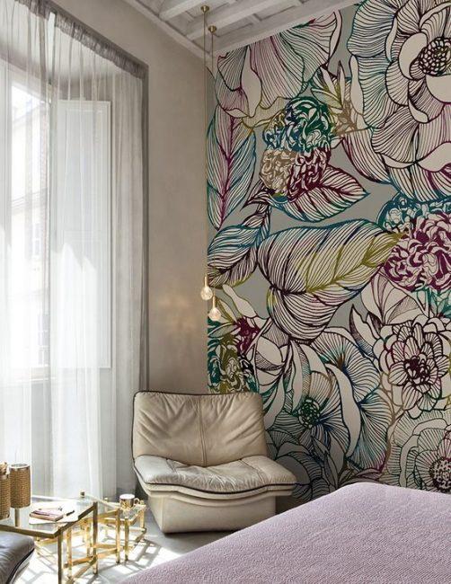Красивое сочетание цветовой гаммы придаст комнате уют