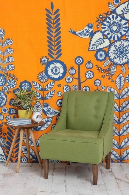 Выбор полотна должен быть обдуманным и вписываться в интерьер комнаты