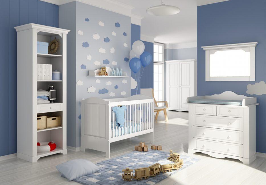 Украсить комнату к рождению ребенка так, чтобы пол ребенка был понятен