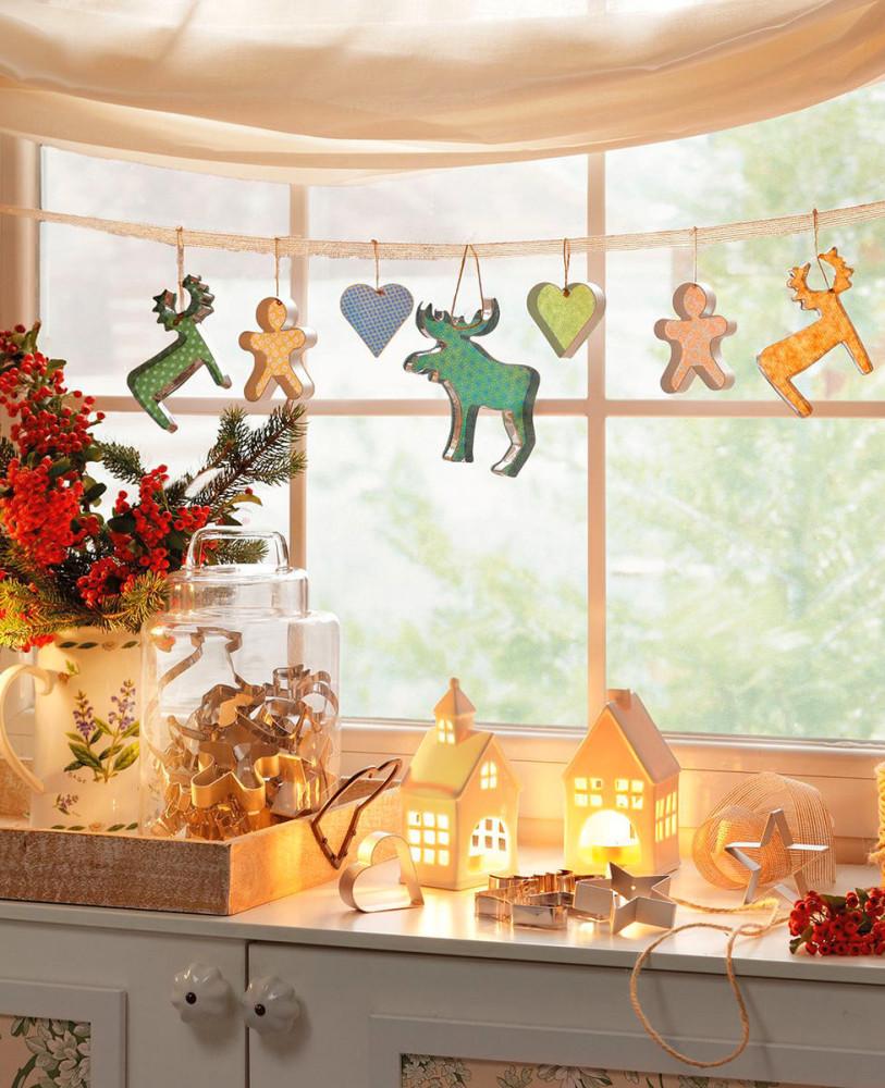 Фото украшения новогодней комнаты