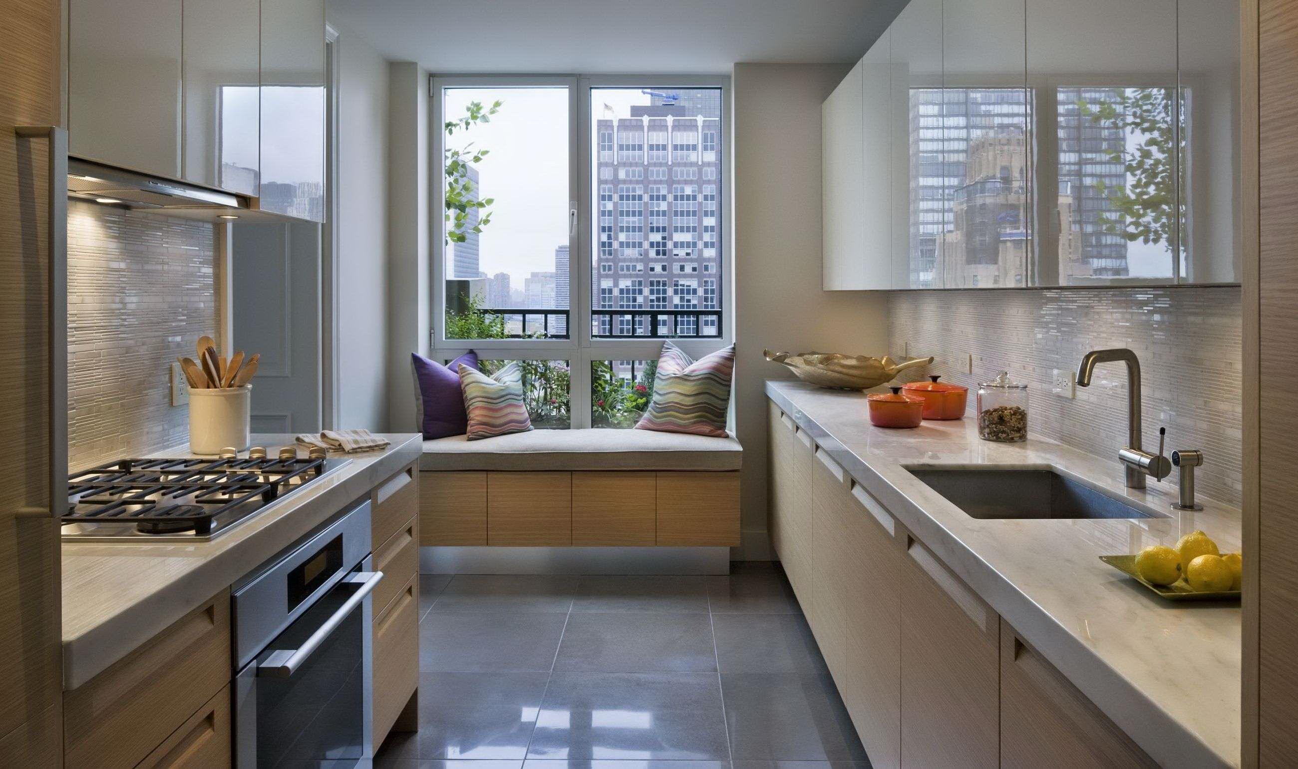 Дизайн узкой кухни модерн дизайн кухни - фото, описание, сов.