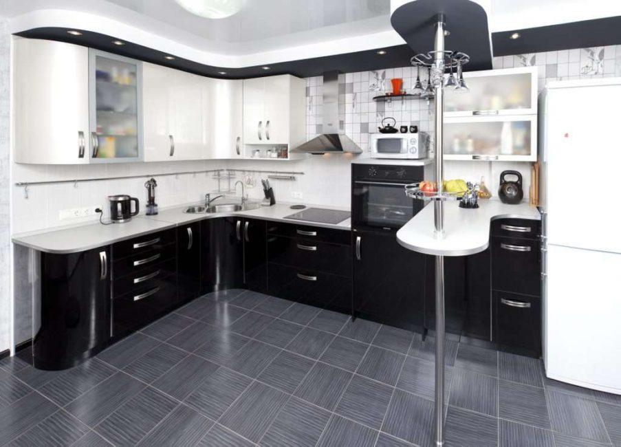 Вариант для угловых кухонь