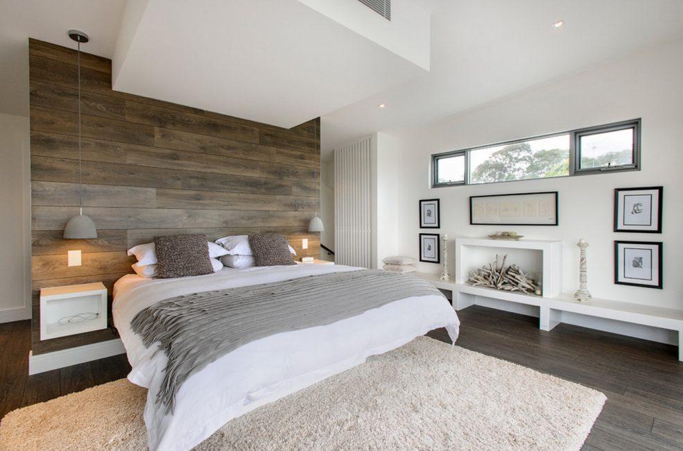 Прекрасное сочетание цветовой гаммы в спальне