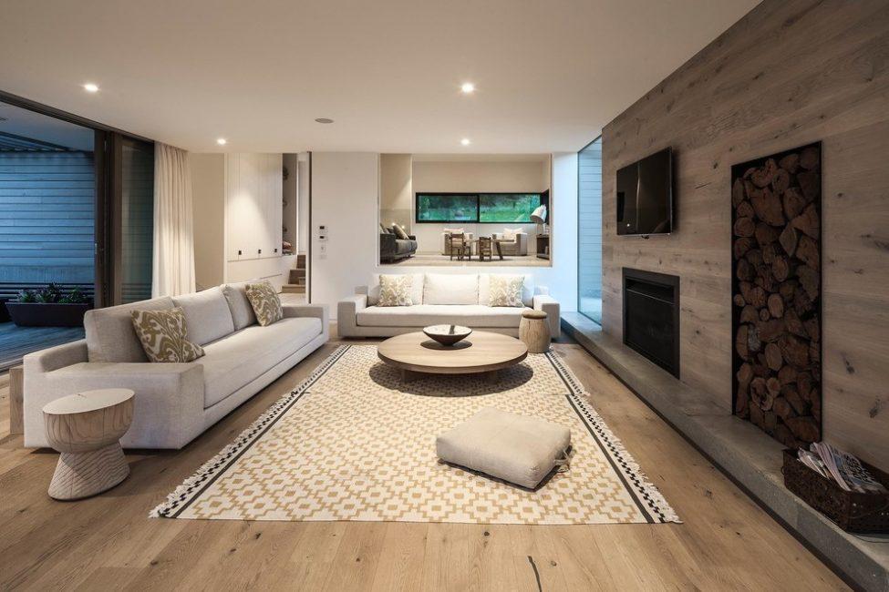 Роскошный интерьер для оформления комнаты