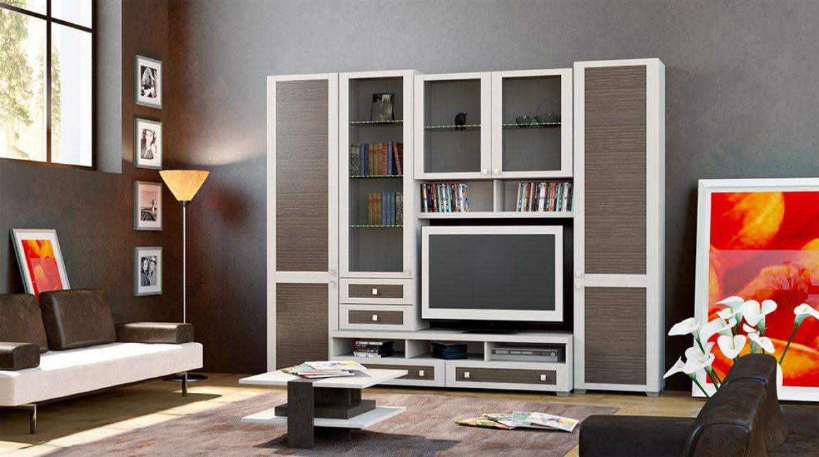Размер мебели прямо зависит от размеров комнаты