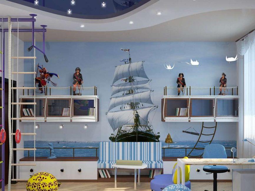 Большой парусник для любителей морской тематики