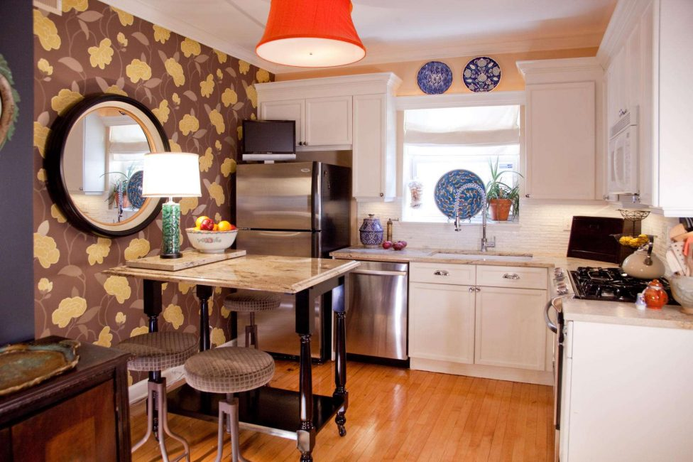 Организовываем в маленькой кухне все комфортно