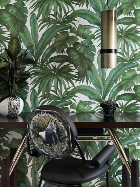 Оазис зелени потрясно смотрится в любом помещении