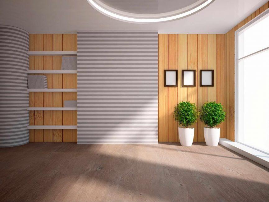 Бюджетный вариант стиля комнаты