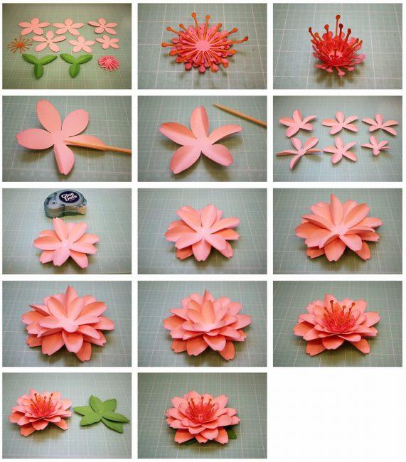 Мастер-класс создания лилии