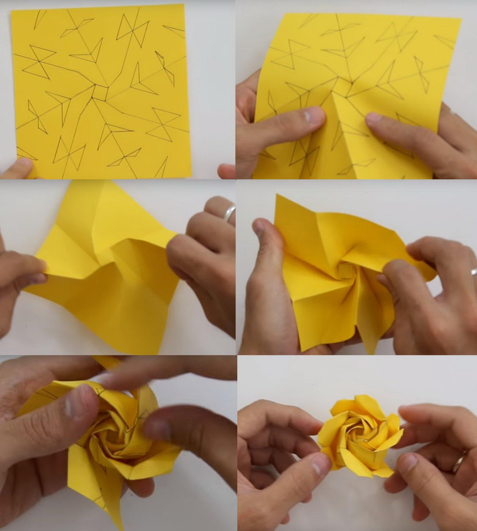Как сделать красивую и оригинальную розу из органзы своими 27